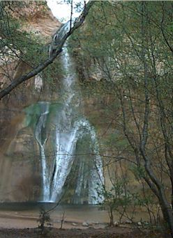 Lower Calf Creek Falls, a great day hike minutes from Escalante
